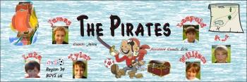 Pirates Soccer Banner - Custom Pirates Soccer Banner
