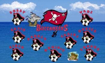 Pirates Soccer Banner - Custom PiratesSoccer Banner