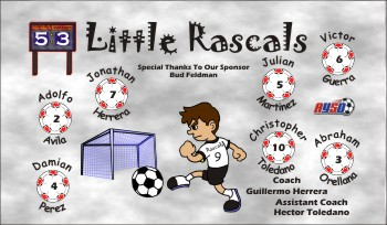 Rascals Soccer Banner - Custom RascalsSoccer Banner