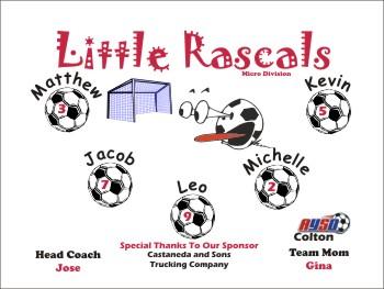 Rascals Soccer Banner - Custom Rascals Soccer Banner