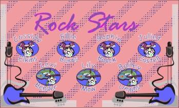 Rockers Soccer Banner - Custom RockersSoccer Banner