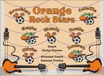 Rockers Soccer Banner - Custom Rockers Soccer Banner