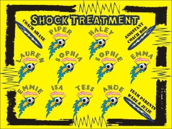 Shock Soccer Banner - Custom Shock Soccer Banner