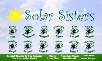 Sisters Soccer Banner - Custom SistersSoccer Banner