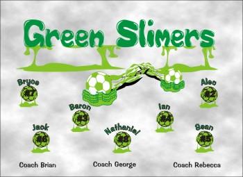 Slime Soccer Banner - Custom SlimeSoccer Banner