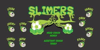 Slime Soccer Banner - Custom Slime Soccer Banner