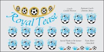 Miscellaneous Soccer Banner - Custom Miscellaneous Soccer Banner