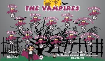Vampires Soccer Banner - Custom Miscellaneous Soccer Banner