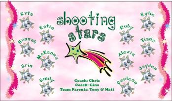 Stars Soccer Banner - Custom StarsSoccer Banner