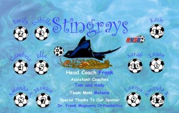 Stingrays Soccer Banner - Custom StingraysSoccer Banner