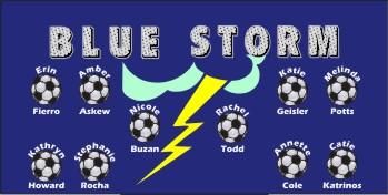 Storm Soccer Banner - Custom Storm Soccer Banner