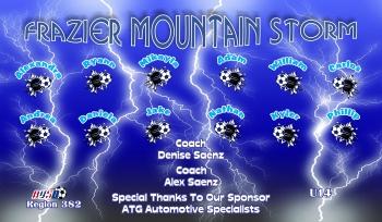 Storm Soccer Banner - Custom StormSoccer Banner