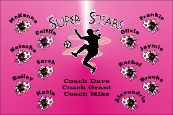 Super Soccer Banner - Custom Super Soccer Banner