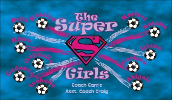 Super Soccer Banner - Custom SuperSoccer Banner