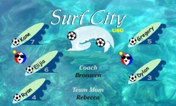 Surferr Soccer Banner - Custom Surferr Soccer Banner