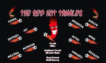Tamales Soccer Banner - Custom Tamales Soccer Banner