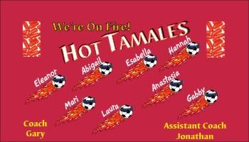 Tamales Soccer Banner - Custom TamalesSoccer Banner