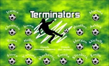 Terminators Soccer Banner - Custom TerminatorsSoccer Banner