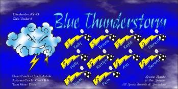 Thunder Soccer Banner - Custom ThunderSoccer Banner