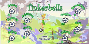 Tinks Soccer Banner - Custom Tinks Soccer Banner