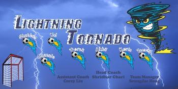 Tornados Soccer Banner - Custom Tornados Soccer Banner