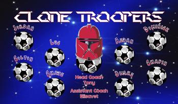 Troppers Soccer Banner - Custom Troppers Soccer Banner