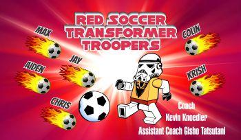 Troppers Soccer Banner - Custom TroppersSoccer Banner
