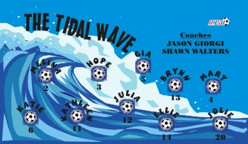 Tsunami Soccer Banner - Custom Tsunami Soccer Banner