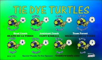 Turtles Soccer Banner - Custom Turtles Soccer Banner