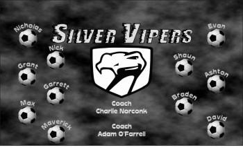 Vipers Soccer Banner - Custom Vipers Soccer Banner