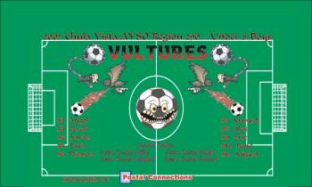 Vultures Soccer Banner - Custom VulturesSoccer Banner