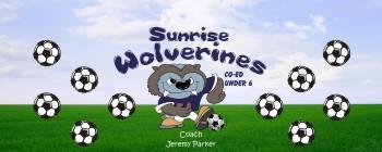 Wolverines Soccer Banner - Custom Wolverines Soccer Banner