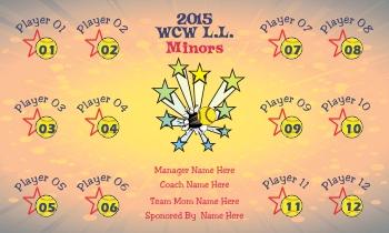 Any Team Softball Radid Banner Examples
