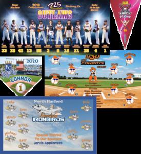 TeamsBanner custom design baseball