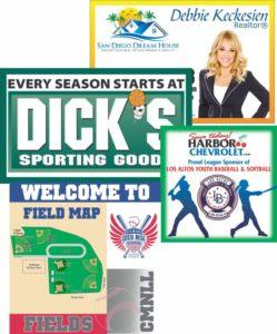 custom sponsor design banner