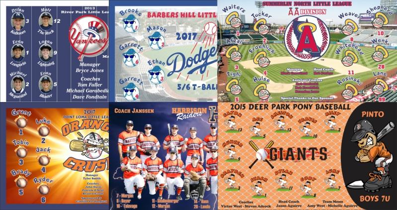 TeamsBanner Cusotm Baseball Banners