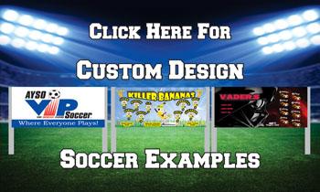 Custom Design Soccer Banners - TeamsBanner