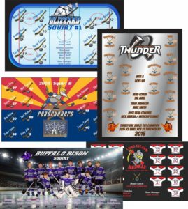 TeamBanner Custom Hockey Banners