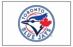 Toronto Blue Jays Custom Baseball Banner TeamsBanner
