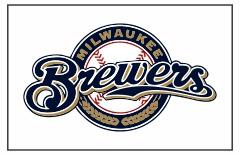 Milwaukee Brewers Custom Baseball Banner TeamsBanner