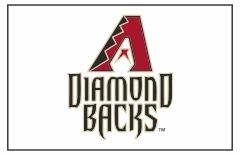 Arizona Diamondbacks Custom Baseball Banner TeamsBanner
