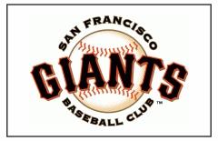 San Francisco Giants Custom Baseball Banner TeamsBanner