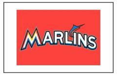 Miami Marlins Custom Baseball Banner TeamsBanner