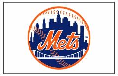 New York Mets Custom Baseball Banner TeamsBanner