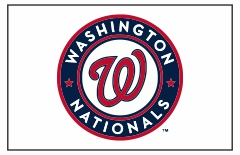 Washington Nationals Custom Baseball Banner TeamsBanner