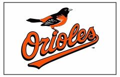 Baltimore Orioles Custom Baseball Banner TeamsBanner