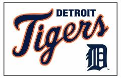 Detroit Tigers Custom Baseball Banner TeamsBanner