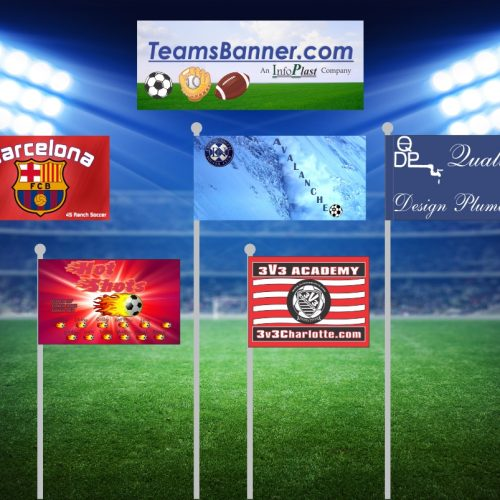 Custom Flags - TeamsBanner - Soccer, Business, Softball