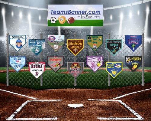 TeamsBanner Home Plate Banners